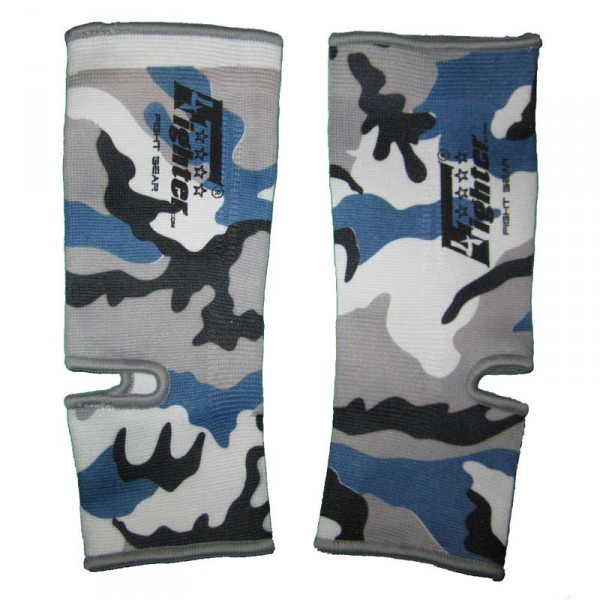 4FIGHTER ankle guards / ankle support Camouflage grey-white-black