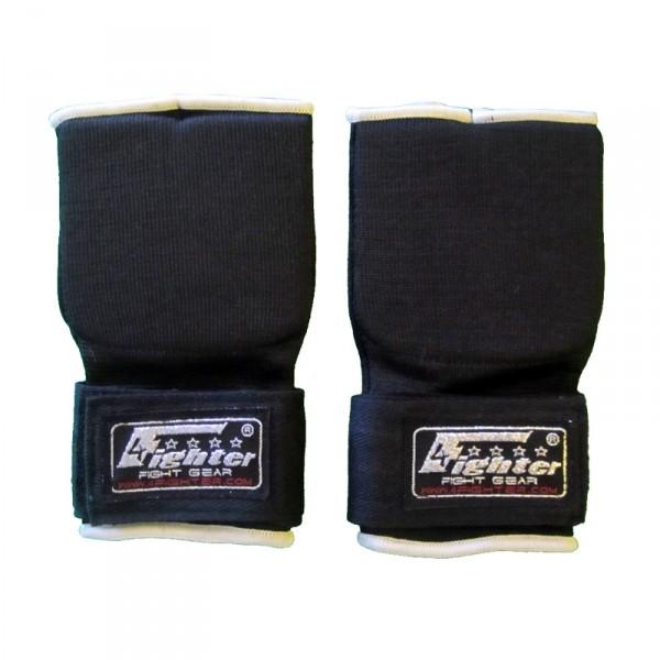 4Fighter Hand Wraps acolchada con cierre velcro y logotipo