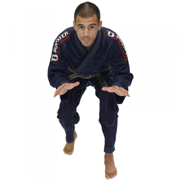 Booster PRO Light Dark Blue Jiu Jitsu Suit – image 1