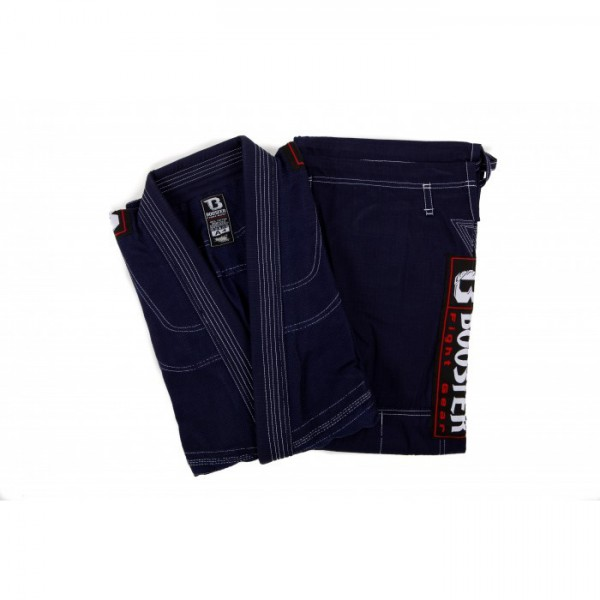 Booster PRO Light Dark Blue Jiu Jitsu Suit – image 2
