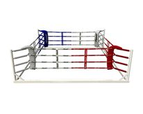 4Fighter boxing ring / ground ring / ring training 5x5 + 4 cables + 4 corner pads 001