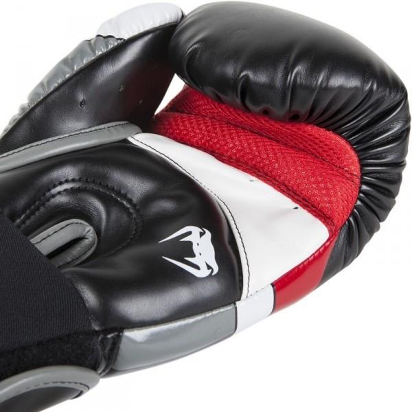 Venum Elite Boxhandschuhe - schwarz/rot/grau – Bild 6