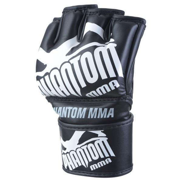 """Phantom MMA Boxing Gloves """"Blackout"""" black/white PU – image 2"""