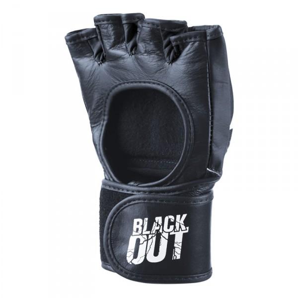 """Phantom MMA Boxing Gloves """"Blackout"""" black/white PU – image 3"""