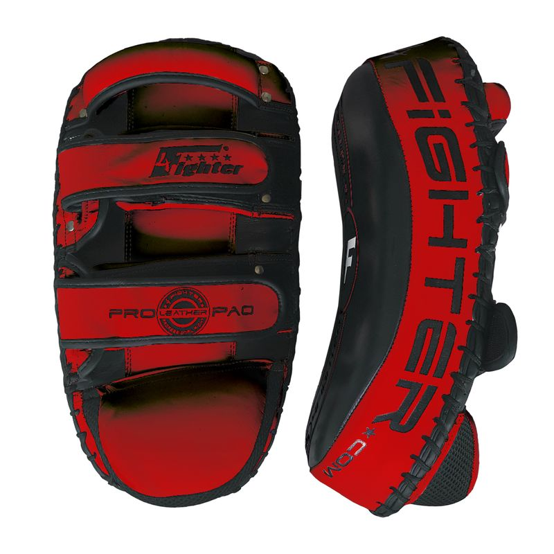 4Fighter PAO Leather black-red – image 2