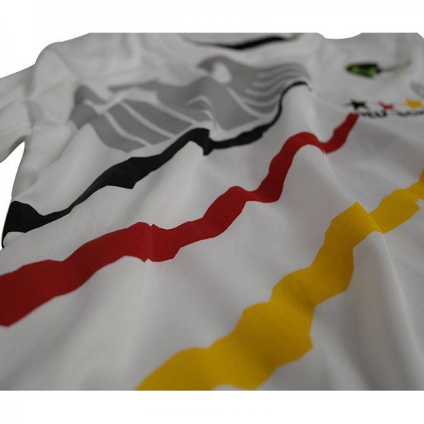 4Fighter Deutschland Herren / Kinder T-Shirt weiß im Design des Nationaltrikots – Bild 8