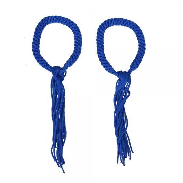 Prajead - Muay Thai joyas marcial tradicional 6.Khan azul