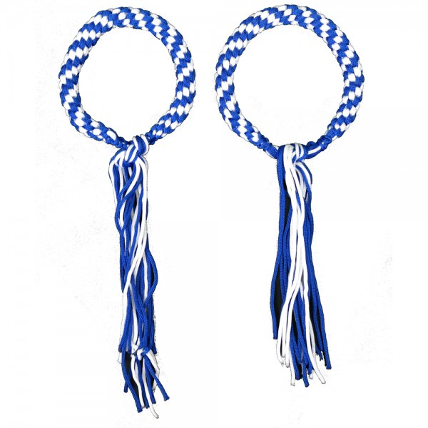 Prajead - traditional Muay Thai martial jewelry 7.Khan blue-white
