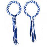 Prajead - traditional Muay Thai martial jewelry 7.Khan blue-white