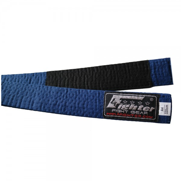 4Fighter BJJ Belt blue in various sizes A1 - A5 – image 1
