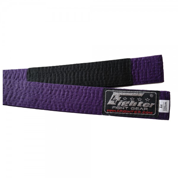 4Fighter BJJ Belt purple in various sizes A1 - A5 – image 1