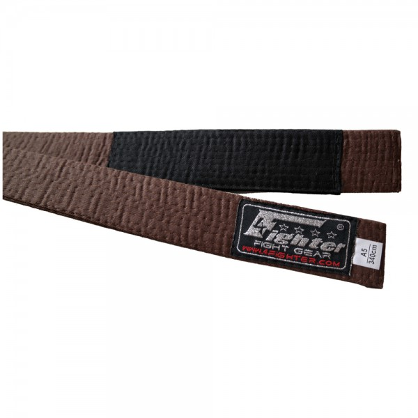4Fighter BJJ Belt brown in various sizes A1 - A5 – image 1