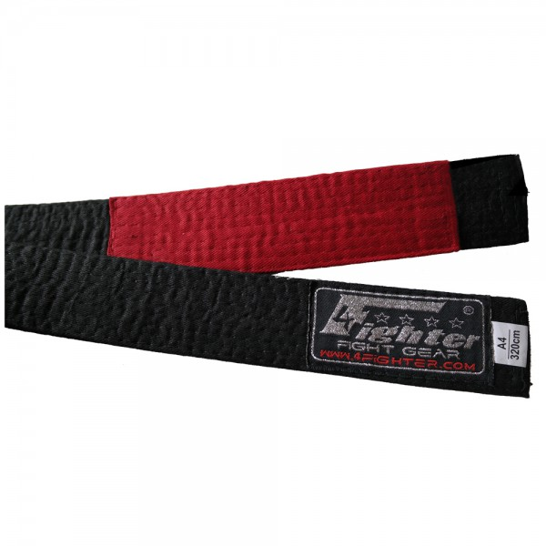 4Fighter BJJ Belt black in various sizes A1 - A5 – image 2