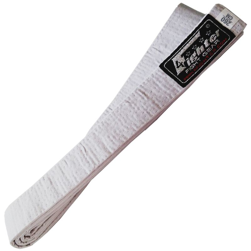 4Fighter Karate Belt / Cinturón de karate en blanco 260 cm