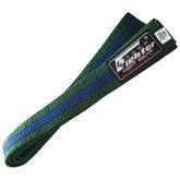 4Fighter Karate Belt in green-blue 260cm