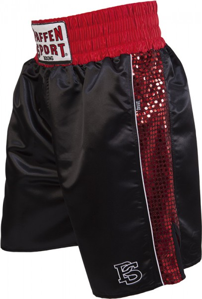 "Paffen-Sport ""Pro Glory"" boxing shorts black/red"
