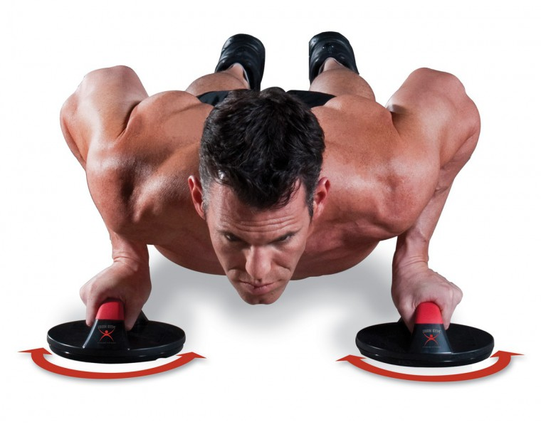 IRON GYM Push Up are recognized as one of the most important upper body exercises – image 3