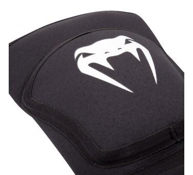 "Venum ""Kontact Evo"" knee pads - black / white – image 2"