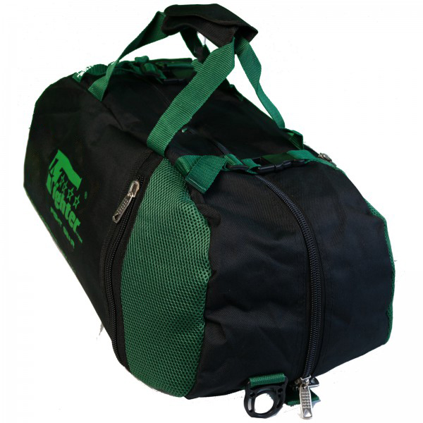 4Fighter mesh gym bag S / Duffelbag for Kids with backpack black-neongreen – image 2