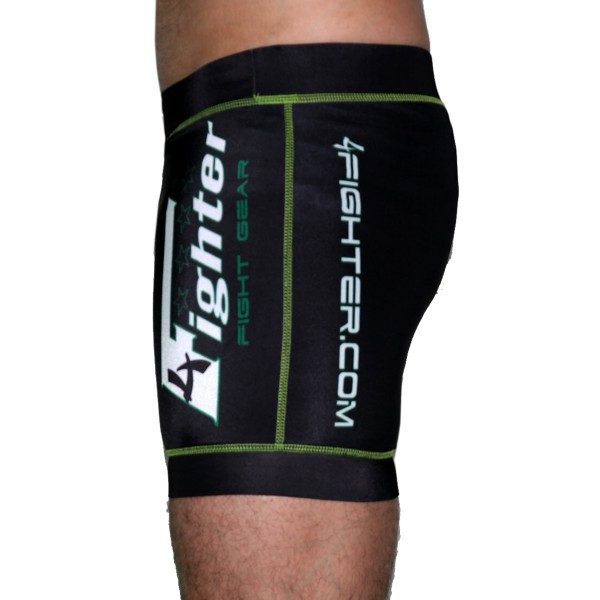 4Fighter Compression pants black with white sublimation printing S - XL – image 2