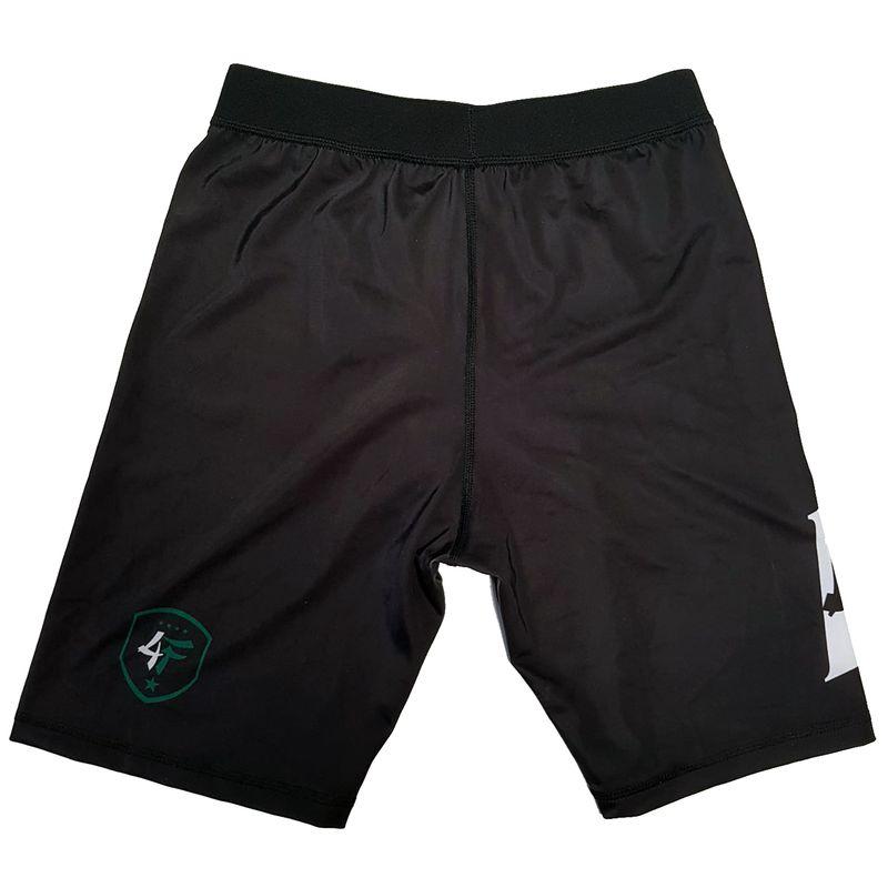 4Fighter Compression Shorts mit integrierter Tiefschutz Tasche schwarz – Bild 2