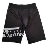 4Fighter Compression Shorts with integrated groin guard bag black