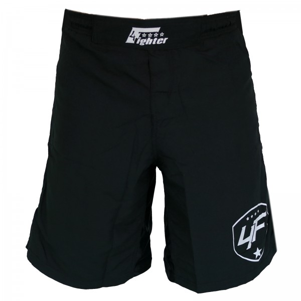 4Fighter Freefight / MMA / UFC Shorts Grappling Hose schwarz XS - XXXL
