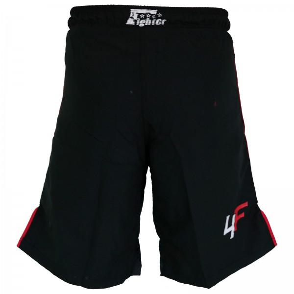 4Fighter Lucha Libre / MMA / UFC Grappling Shorts Pantalones Negro-Rojo XS - XXXL – Bild 2