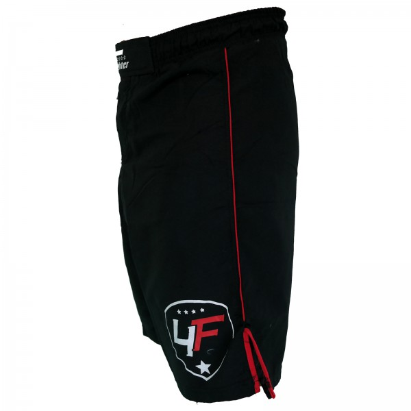 4Fighter Free Fight / MMA / UFC Grappling Shorts / Pants Black-Red XS - XXXL – image 3