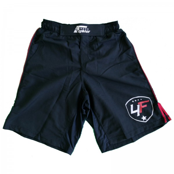 4Fighter Free Fight / MMA / UFC Grappling Shorts / Pants Black-Red XS - XXXL – image 7