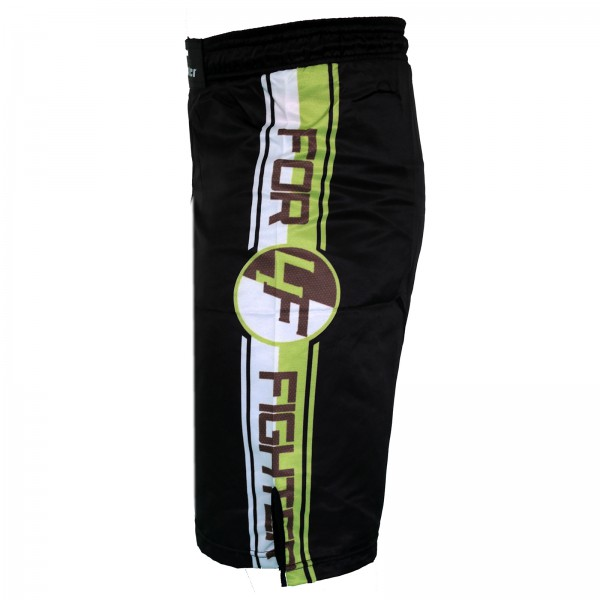 4Fighter Free Fight / MMA / UFC Grappling Shorts / Pants Black-Neon Green XS - XXXL – image 3