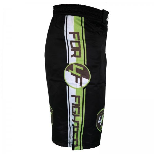 4Fighter Freefight / MMA / UFC Shorts Grappling Hose schwarz-Neongrün XS - XXXL – Bild 4