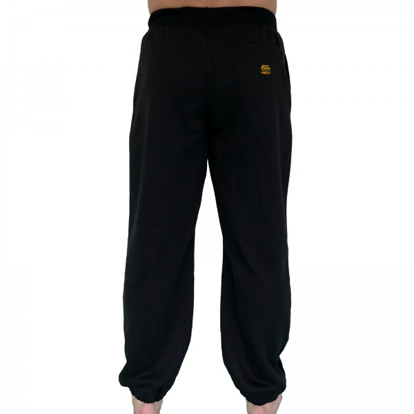 4Fighter sweatpants / training pants / leisure pant / Sport Pants black with embroidery – image 2
