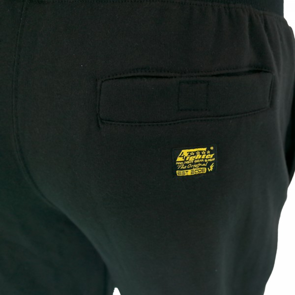 4Fighter sweatpants / training pants / leisure pant / Sport Pants black with embroidery – image 4