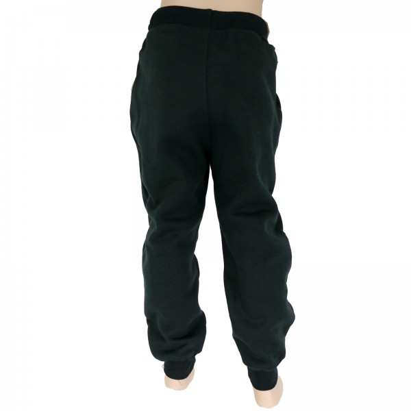 4Fighter children sweatpants / training pants / leisure pant / Sport Pants black with embroidery – image 2