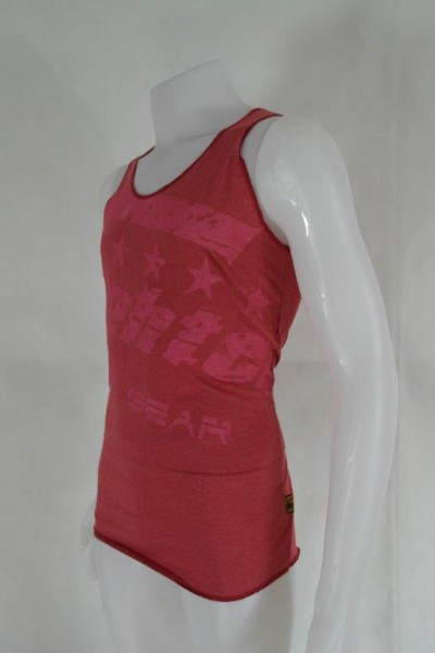 4Fighter T-shirt Muscle shirt Tanktop red with 4Fighter printing S-XXL – image 2