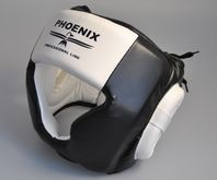 PHOENIX head protection Professional Line leatherette black and white 001