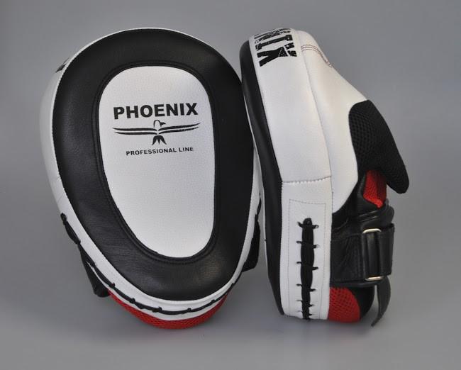 PHOENIX GEL Handpratze PROFESSIONAL Leder/Gel  (Paar) – Bild 1