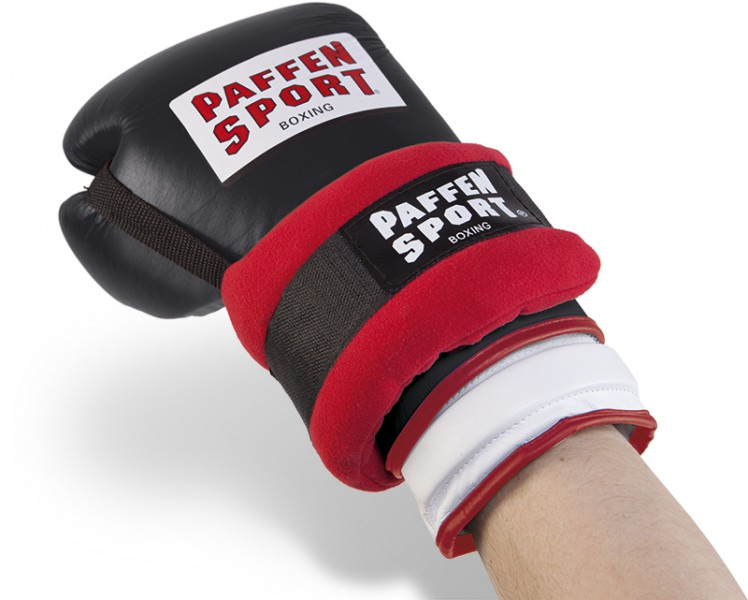 Paffen-Sport Fit weight cuffs, red / black, 2kg (2 x 1kg) – image 1