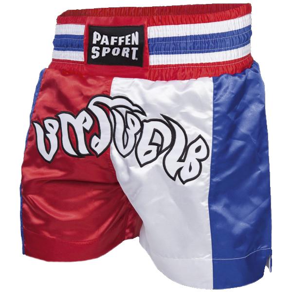 Paffen Sport Thai-Hose Blau/Rot/weiss Thai Farben