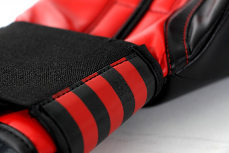 Adidas Power 100 Boxing Gloves in black / red – image 4