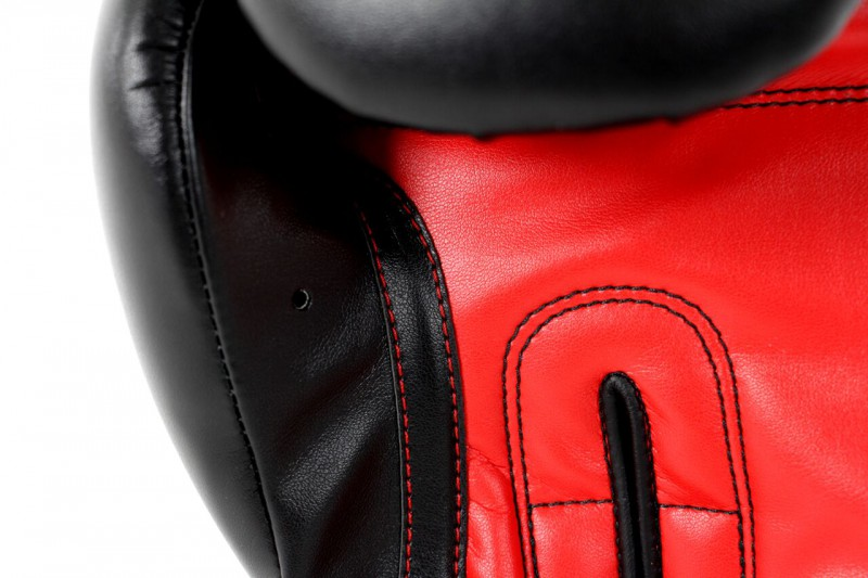Adidas Power 100 Boxing Gloves in black / red – image 2