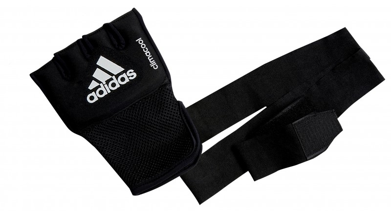 Adidas Quick Wrap Mexican Gel-Bandage in schwarz – Bild 1