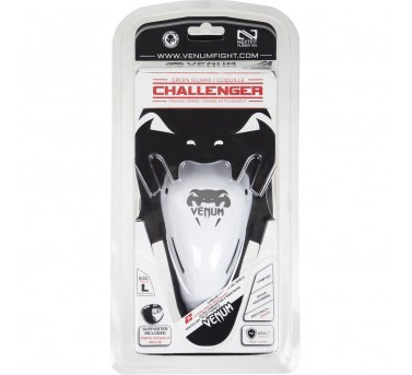 Venum Challenger Groin guard with Cup black-white – image 6