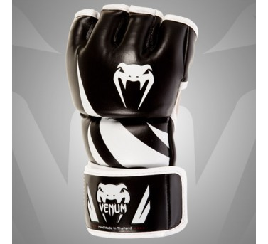 Venum Challenger MMA Gloves Synthetic Leather black / white  Venum Challenger MMA Gloves Synthetic Leather black / white S - L / XL – image 2