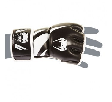 Venum Challenger MMA Gloves Synthetic Leather black / white  Venum Challenger MMA Gloves Synthetic Leather black / white S - L / XL – image 3