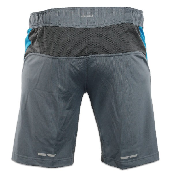 Adidas Fluid Technique MMA Shorts gray / blue – image 2