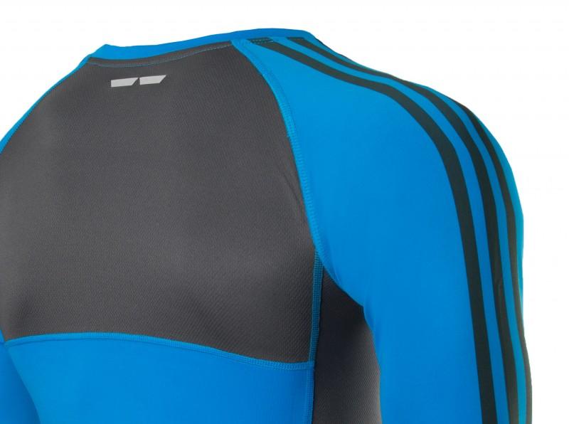 Adidas Transition Rashguard blau/schwarz – Bild 3