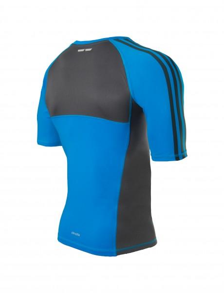 Adidas Transition Rashguard blau/schwarz – Bild 2
