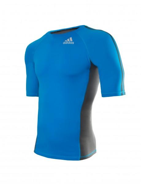Adidas Transition Rashguard blau/schwarz – Bild 1